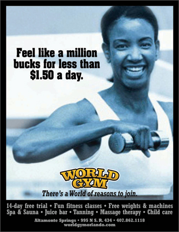 World Gym Creative Campaign